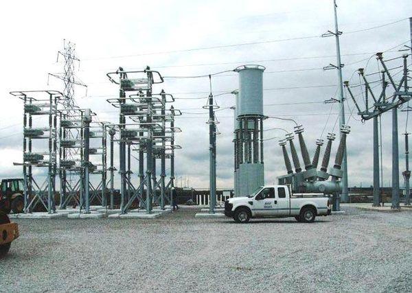 Meadow Lake Wind Farm Substation Capacitor Bank