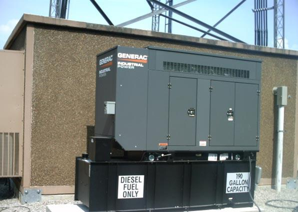 Verizon Wireless Generator Installations