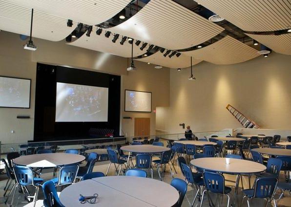 Michigan School for the Deaf Cafetorium A/V System