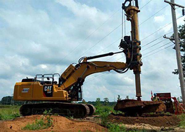 Kenzie Creek-Corey T-Line Foundations Phase 2