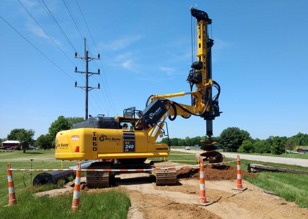 Kenzie Creek-Corey T-Line Foundations Phase 3