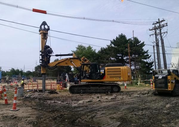 Pine Avenue 138kV Substation Foundations