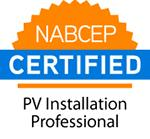 NABCEP PV installation seal