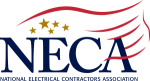 NECA logo - National Electrical Contractors Association